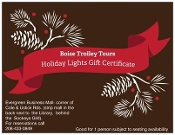 Holiday Lights Gift Certificate