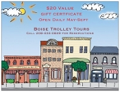 Historical Trolley Tour Gift Certificate